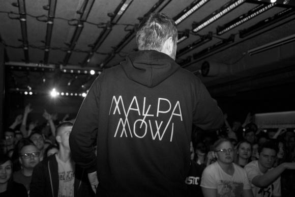 RAPort#6 - Małpa Mówi, premierowy koncert - Łódź