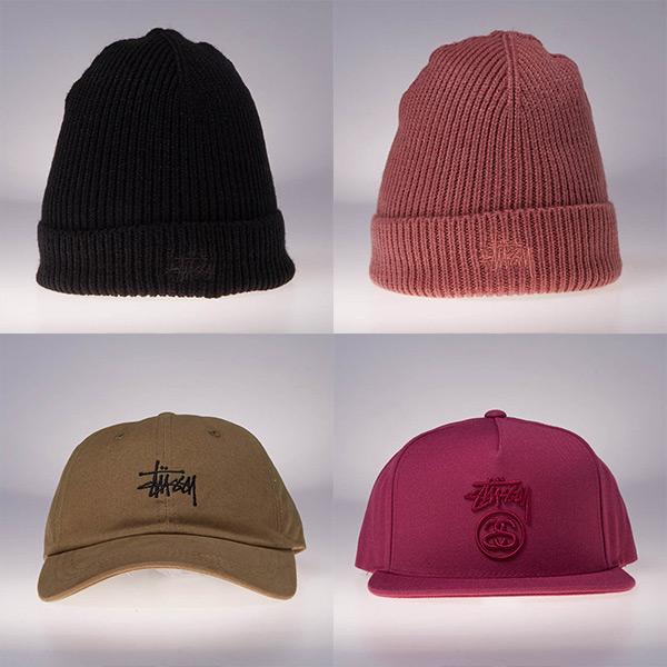 Stussy - czapki