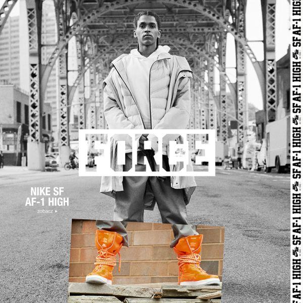Buty zimowe damskie Nike SF AF1 High