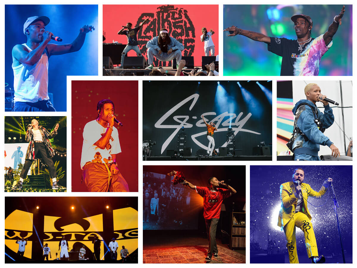 rap star on the stages of summer festivals!