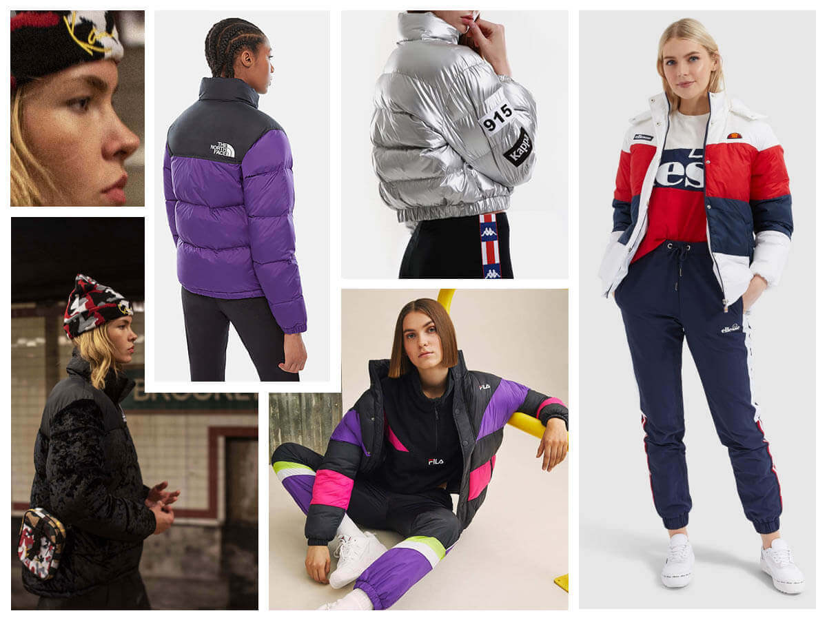 Women's winter jackets without dumpers